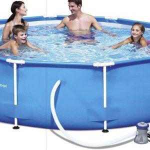 bestway zwembad met filterpomp 305x76cm