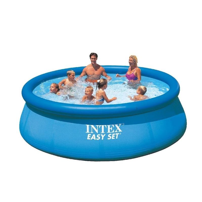 opblaasbaar zwembad voor familie